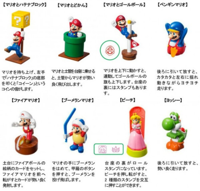 McDonalds Mario Happy Meal