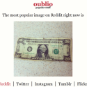 Oublio Shows You What's Hot on Reddit, Twitter, Tumblr, and More