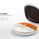Plate Cooker Heats Meals for One in a Jiffy