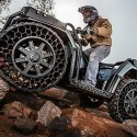 Military Inspired ATV Comes With Unpopable Tires