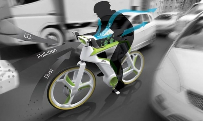 Air Purifying Bike1