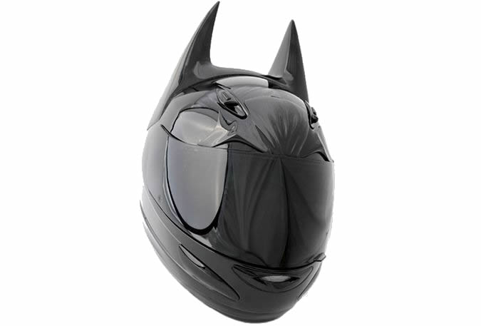 Batman Motorcycle Helmet - DOT Approved