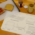 Easy-to-Make Foods Made Easier: Food Blue Print Place Mats