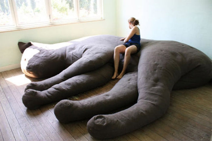Giant Cat Couch