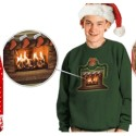 High-Tech Ugly Christmas Sweaters With Animated Designs are Still Ugly