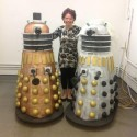 Celebrate, Don't Exterminate: Life-Sized Dalek Wedding Cakes