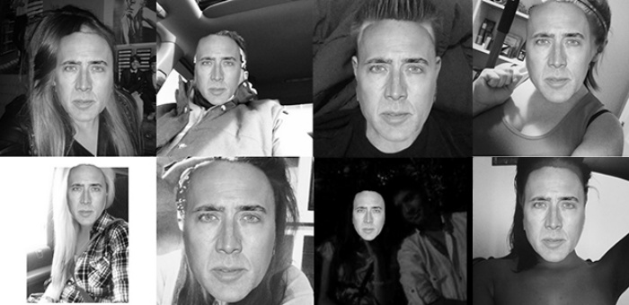 Nicolas Cage Selfie