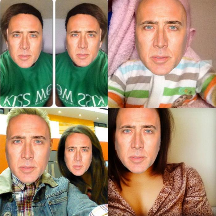 Nicolas Cage Selfie2