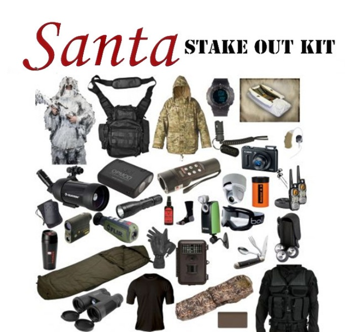 Santa Stake Out Kit