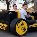 Lego Car Created From 500,000 Lego Pieces With A Speed Up To 20mph