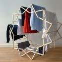 This Dude's Clothes Horse Goes Round and Round