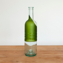 Pure-Bottle is a Glass, Lantern, and Spoon Set In One