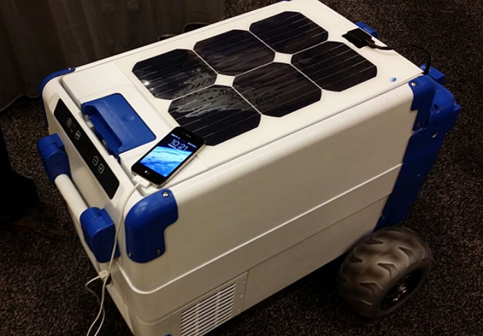 Solarcooler Keeps Drinks Cool With Sun Power Ohgizmo