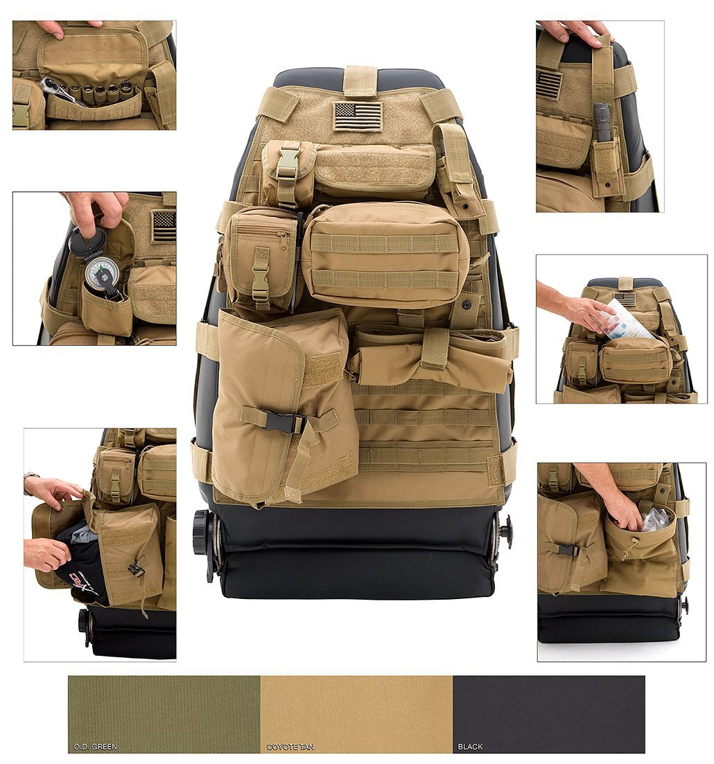 Tactical Seat Covers Will Breathe Some New Military