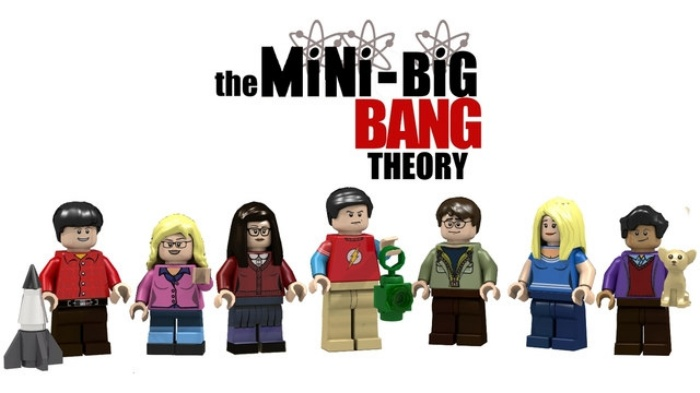 Big Bang Theory LEGO1