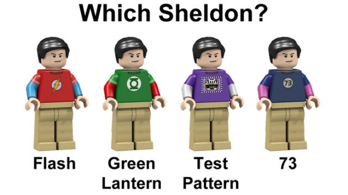Big Bang Theory LEGO2