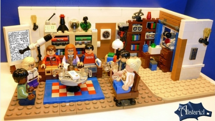 Big Bang Theory LEGO3