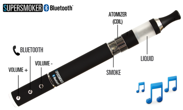 Bluetooth-e-Cigarette