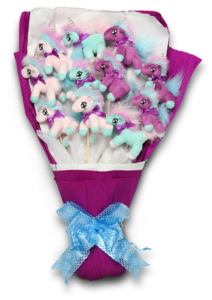 Plush Unicorn Bouquet1