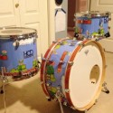 Custom Super Mario Drum Set is Awesome