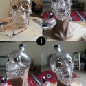 Forensic Scientist Reconstructs Crystal Head Vodka Man