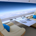 This Business Jet Ditches Windows In Favor Of A Panoramic Display