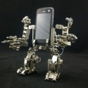 The Lean, Mean Weaponized Mecha Machine Smartphone Holder