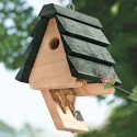 Just Make Sure No One Else Sees: Birdhouse Key Hider