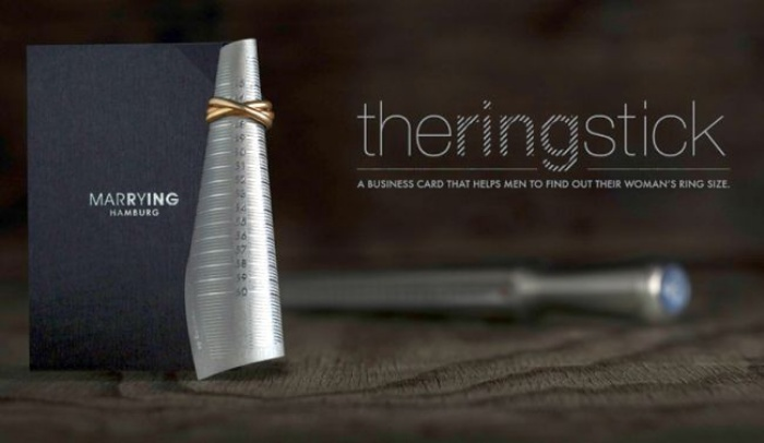 Business Card - Ring Measure