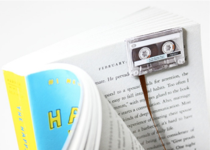 Cassette Tape Bookmark1