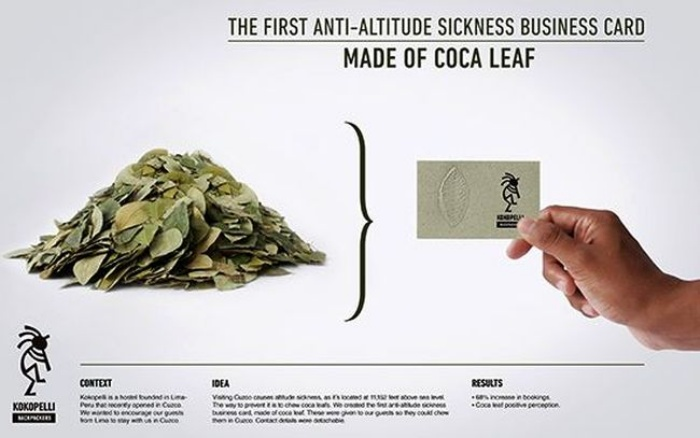 Edible Business Card