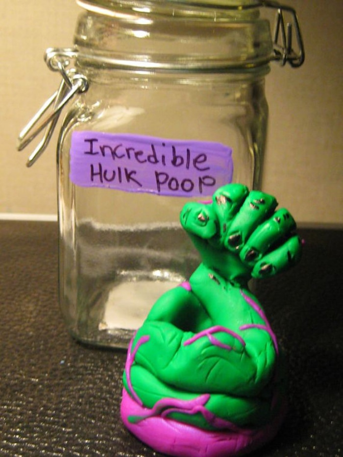 Incredible Hulk Poop