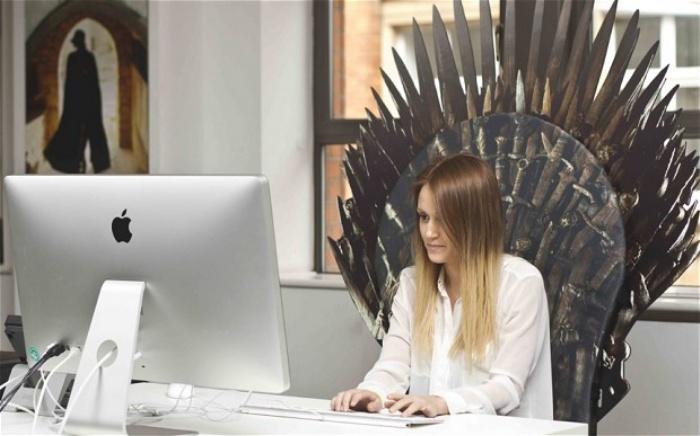 Iron Throne Backboard