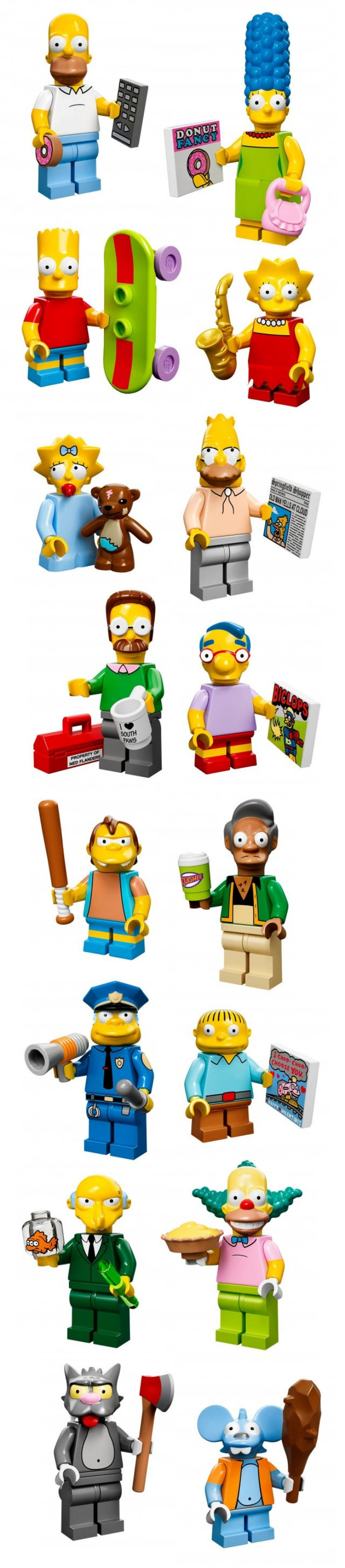 LEGO Simpsons Minifigs1