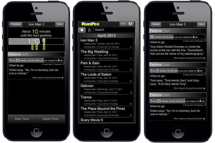 RunPee App