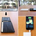 TravelCard Smartphone Charger Fits In Your Wallet