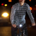 Turn Heads, Even When It's Dark: Betabrand Reflective Plaid Button-Down