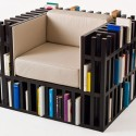 I Need Me One of These: Bibliochaise Bookshelf Chair