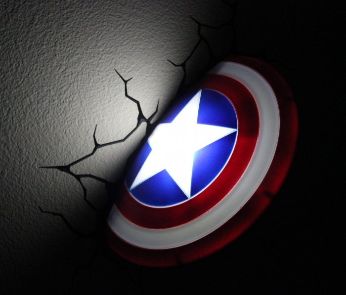 Captain America Shield Nightlight
