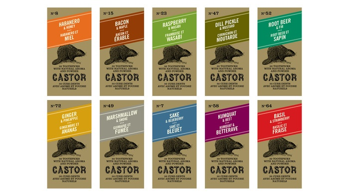 Castor Flavored Toothpicks1