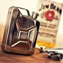 Drink Like a Boss: Jerry Can Stainless Steel Hip Flask