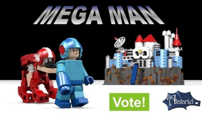 Lego Megaman Cuuso