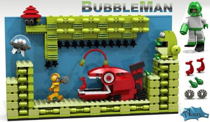 Lego Megaman Cuuso4