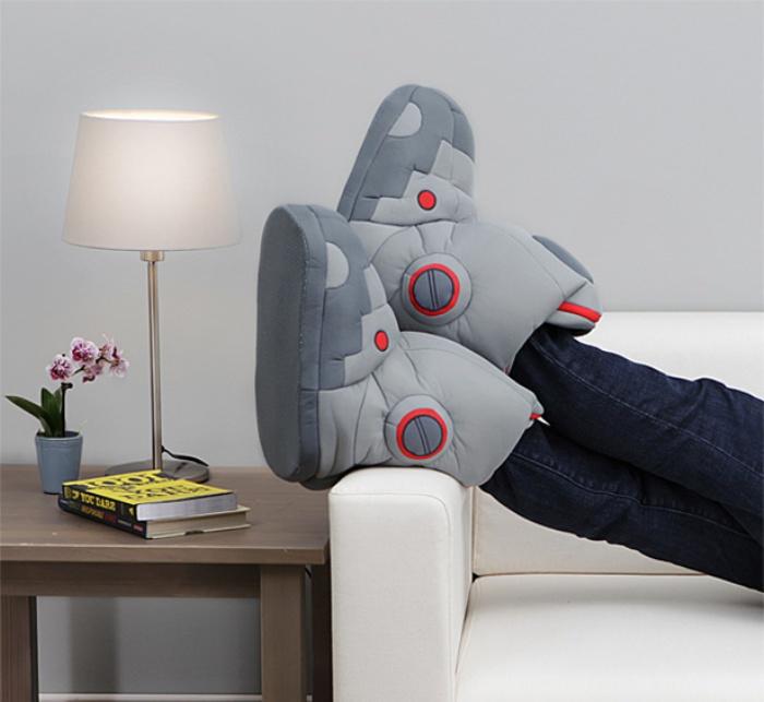 Robot Slippers