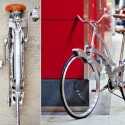 Spokeless Sada Bike: Sleek, Portable, Foldable