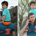 SaddleBaby Frees Your Hands, Keeps Your Little One Safe