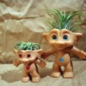 Another Use for Trolls: Treasure Troll Air Plant Pot