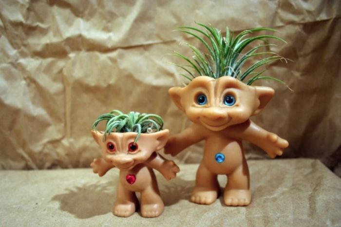 Treasure Troll Air Plant Pot