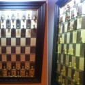 Checkmate: Wall-Mounted Chess Board