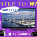 Deal Of The Day: Another Giveaway, This Time It's A Samsung HDTV!